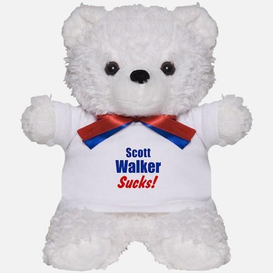Scott Walker Sucks Teddy Bear