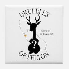 The Ukalope Tile Coaster
