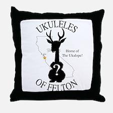 The Ukalope Throw Pillow