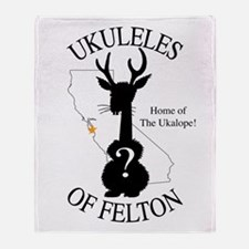 The Ukalope Throw Blanket