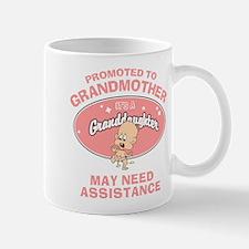 Funny New Granddaughter Grandmother Mug