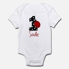 SADIE 1 Ladybug CUSTOM - Infant Bodysuit
