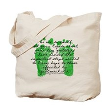 Tiny Footsteps that started i Tote Bag