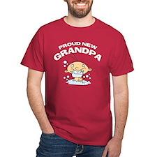 Funny Proud New Grandpa T-Shirts T-Shirt