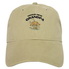 Funny Proud New Grandpa T-Shirts Baseball Cap