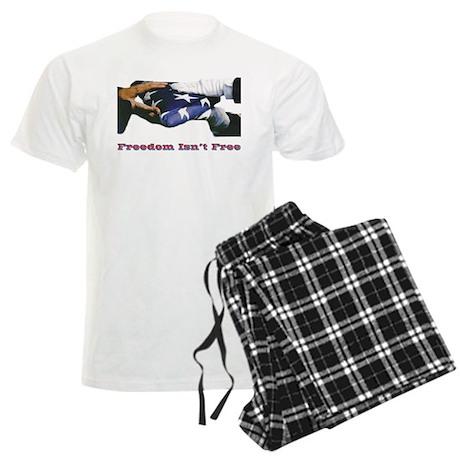 Freedom Isn't Free Men's Light Pajamas