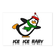 Chilly Willy Ice Ice Baby Postcards (Package of 8)