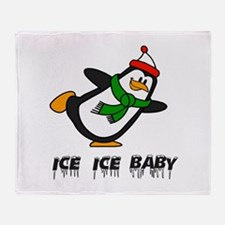 Chilly Willy Ice Ice Baby Throw Blanket