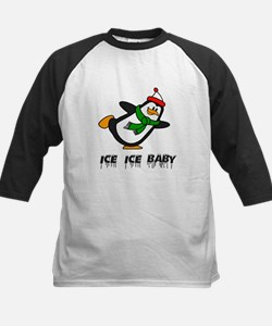 Chilly Willy Ice Ice Baby Kids Baseball Jersey