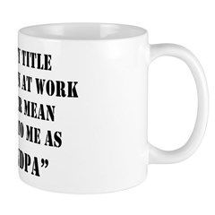 Grandpa Quote Mug