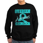 Ovarian Cancer Awareness Sweatshirt (dark)