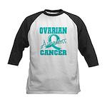 Ovarian Cancer Awareness Kids Baseball Jersey