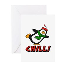 Chilly Willy Chill! Greeting Card