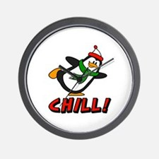 Chilly Willy Chill! Wall Clock