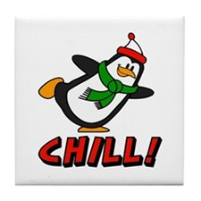 Chilly Willy Chill! Tile Coaster