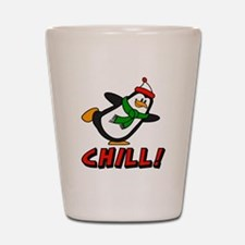 Chilly Willy Chill! Shot Glass
