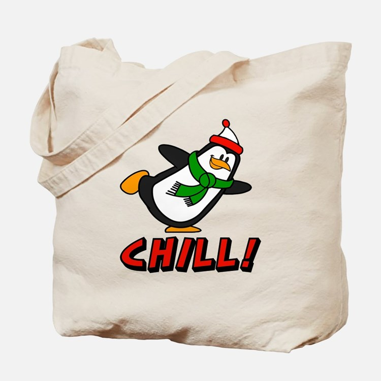 Chilly Willy Chill! Tote Bag