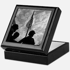 Unique Korean war memorial Keepsake Box
