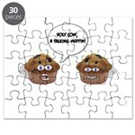 A talking muffin! Puzzle