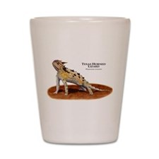 Texas Horned Lizard Shot Glass