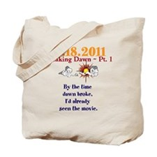 Seen the Movie Tote Bag
