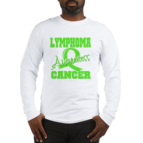 Lymphoma Cancer Awareness Long Sleeve T-Shirt