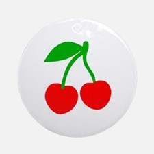 Cherries Ornament (Round)