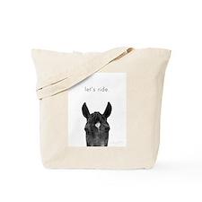 Let's Ride print by Ed Wood Tote Bag