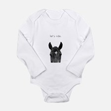 Let's Ride print by Ed Wood Long Sleeve Infant Bod