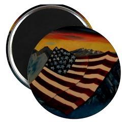 Patriot Mountain Magnet