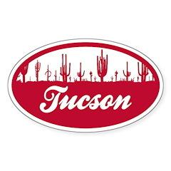 Tucson AZ Flag Decal