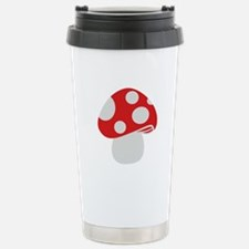 Toadstool fly agaric Travel Mug