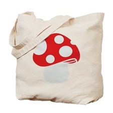 Toadstool fly agaric Tote Bag