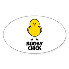 Rugby Chick Decal
