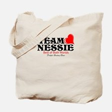 Team Nessie (blk/red) Tote Bag