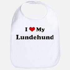 I Love Lundehund Bib