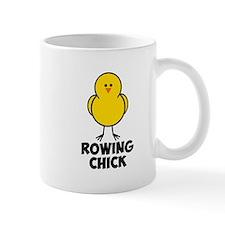 Rowing Chick Small Mug