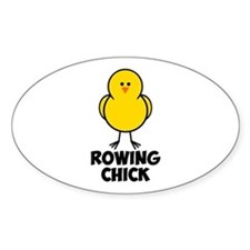 Rowing Chick Decal
