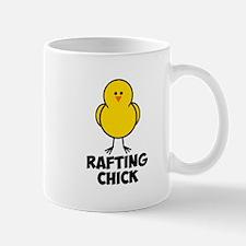 Rafting Chick Mug