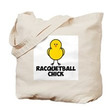 Racquetball Chick Tote Bag