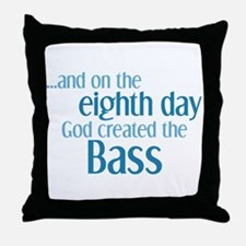 Creation of the Bass Throw Pillow