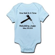 one nail at a time Infant Bodysuit