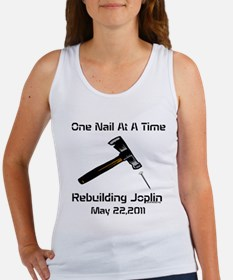 one nail at a time Women's Tank Top