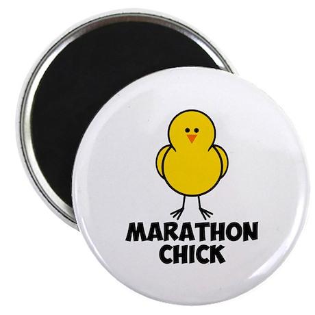 Marathon Chick Magnet