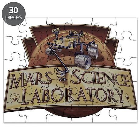 Mars Science Laboratory Puzzle