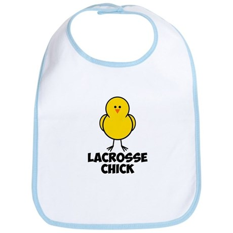 Lacrosse Chick Bib