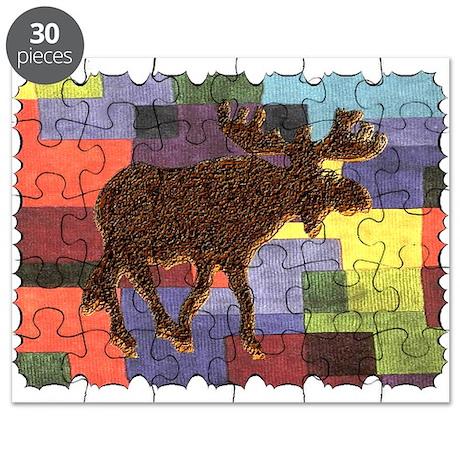 Colorful Moose Puzzle