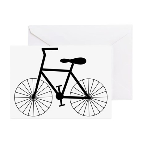 Cycling Design Greeting Cards (Pk of 10)