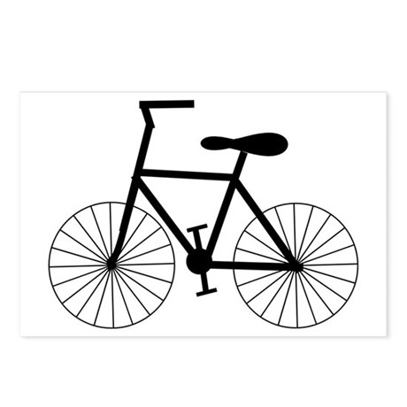 Cycling Design Postcards (Package of 8)