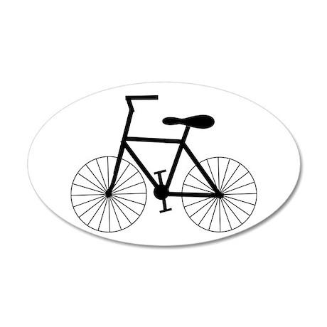Cycling Design 22x14 Oval Wall Peel